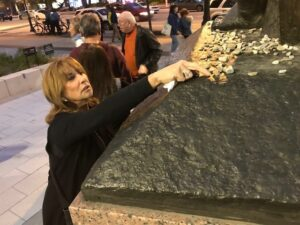 At rededication of Philadelphia's Holocaust Memorial